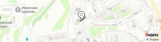 Хлебсоль на карте Ростова-на-Дону
