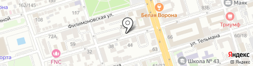 Адвокатский кабинет на карте Ростова-на-Дону