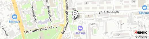 ИНСТИТУТ ЮЖНИИГИПРОГАЗ на карте Ростова-на-Дону