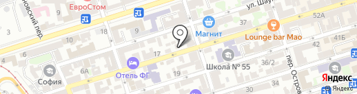 Вэм на карте Ростова-на-Дону