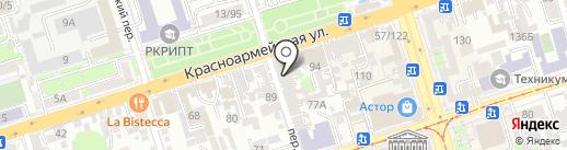 VERESK STUDIO на карте Ростова-на-Дону