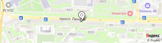Фотосалон на карте Ростова-на-Дону