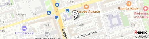 Лукойл-Интер-Кард на карте Ростова-на-Дону
