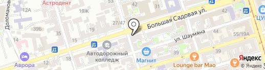 Burda на карте Ростова-на-Дону
