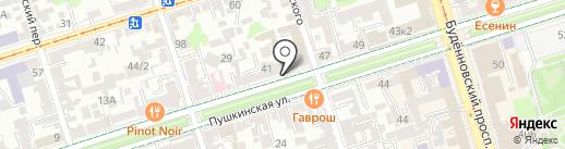 Fleur Decor на карте Ростова-на-Дону