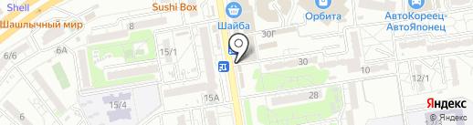 Магазин цветов на карте Ростова-на-Дону