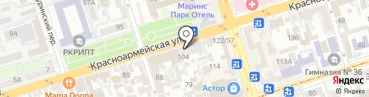 ЛИГАПРИНТ на карте Ростова-на-Дону