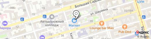 Сангха на карте Ростова-на-Дону
