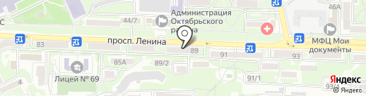 Диафрагма.рус на карте Ростова-на-Дону