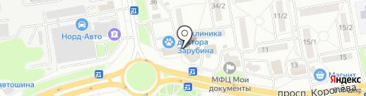 Тут сервис на карте Ростова-на-Дону