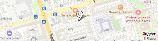 Студия Ольги Медведевой на карте Ростова-на-Дону