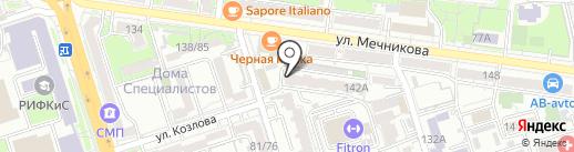 Аудит и Консалтинг СВОЙ ДОМ на карте Ростова-на-Дону