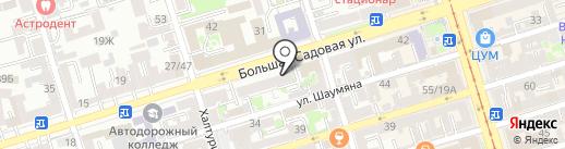 Гурман Булкинъ на карте Ростова-на-Дону