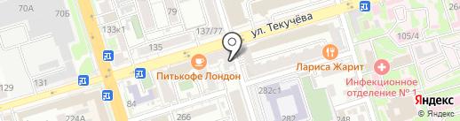 FIT-N-GO на карте Ростова-на-Дону