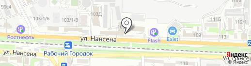 СВ-Техникс на карте Ростова-на-Дону