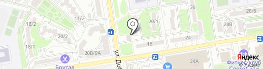 Городская служба ремонта на карте Ростова-на-Дону