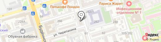 Дом на Соборном на карте Ростова-на-Дону