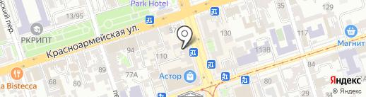 Florencia Luxe на карте Ростова-на-Дону