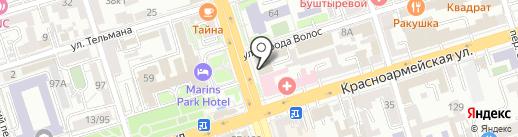 Финансовые партнеры на карте Ростова-на-Дону