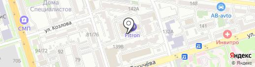 Fitron на карте Ростова-на-Дону