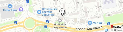 Магазин детской одежды на карте Ростова-на-Дону