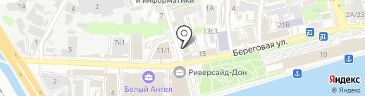 Юридическая компания на карте Ростова-на-Дону
