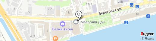 Хиквижн, ЗАО на карте Ростова-на-Дону