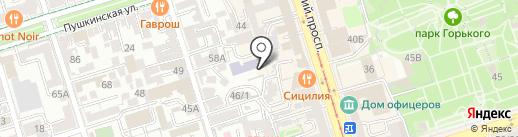 Антарес на карте Ростова-на-Дону