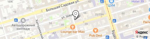 Angelina Zviller на карте Ростова-на-Дону