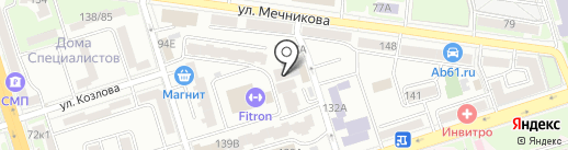 СДЭК на карте Ростова-на-Дону
