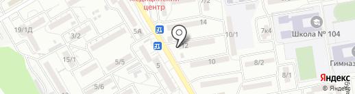 Страховая компания на карте Ростова-на-Дону
