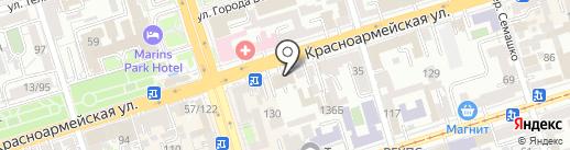 Море Трэвел на карте Ростова-на-Дону