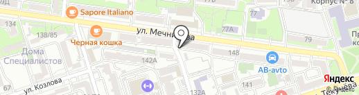 Driada Nails на карте Ростова-на-Дону