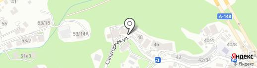 Вся недвижимость Сочи на карте Сочи