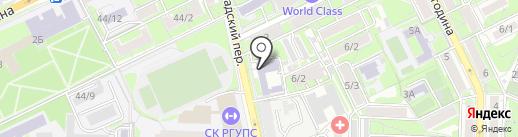 Олимп161 на карте Ростова-на-Дону