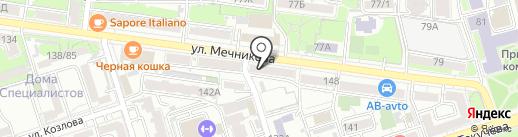 Объединенные Частные Пивоварни на карте Ростова-на-Дону