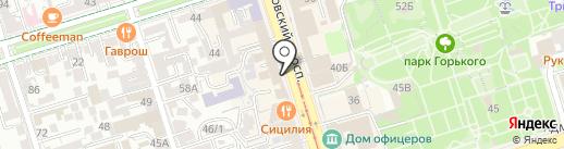Премиум Ломбард на карте Ростова-на-Дону