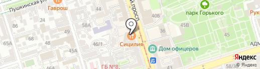 Kraftbar на карте Ростова-на-Дону
