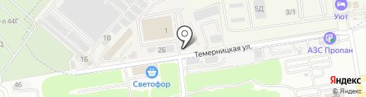 Благоустройство на карте Темерницкого