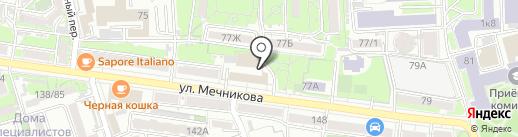 РДК на карте Ростова-на-Дону