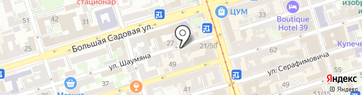 Аэро-К-Плюс на карте Ростова-на-Дону