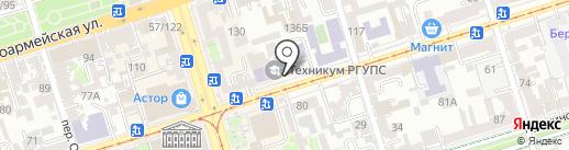 Ростовская Федерация Киокушинкай Каратэ-до на карте Ростова-на-Дону