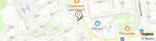 Альшиль на карте Ростова-на-Дону