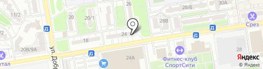 Детский Бутичок на карте Ростова-на-Дону