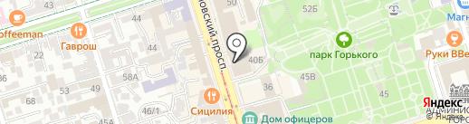 Niki Domi на карте Ростова-на-Дону