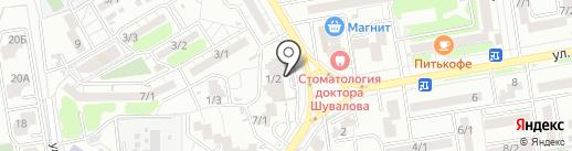 Профмедицина на карте Ростова-на-Дону