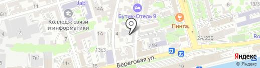 ПромСтройЭкспертиза на карте Ростова-на-Дону