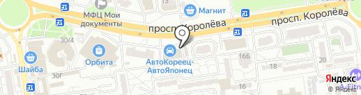 ПРОХОДИМЕЦЪ на карте Ростова-на-Дону