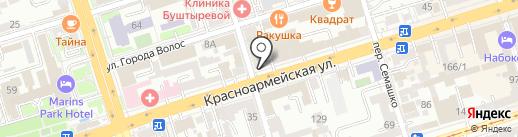 Красивые кухни на карте Ростова-на-Дону