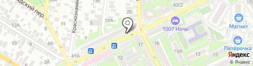 Проект О3 на карте Ростова-на-Дону
